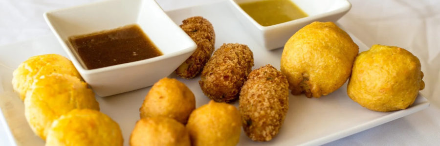 ALOO BALL & FISH CAKES